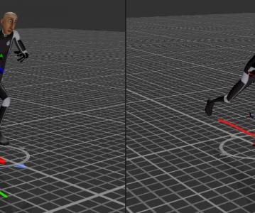 Animator 動畫依腳步狀態切換
